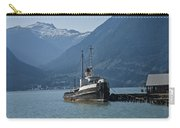 Shipping Freighter In Squamish British Columbia No.0187 Carry-all Pouch