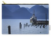 Shipping Freighter In Squamish British Columbia No.0201 Carry-all Pouch