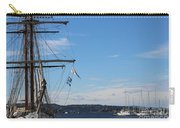 Ships In Oslo Harbor Carry-all Pouch