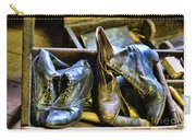 Shoe - Vintage Ladies Boots Carry-all Pouch