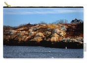 Rockport Shore Rocks - Greeting Card Carry-all Pouch