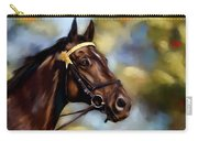 Show Horse Painting Carry-all Pouch