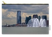 Shuttle Enterprise And Fire Boat Carry-all Pouch by Gary Eason