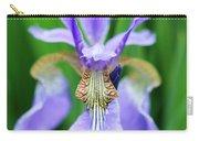 Siberian Iris Flower Carry-all Pouch