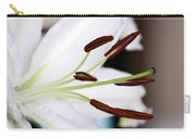Side View Of A Lily 2 Carry-all Pouch