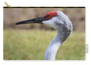 Sideways Sandhill Crane Carry-all Pouch