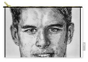 Sidney Crosby In 2007 Carry-all Pouch by J McCombie