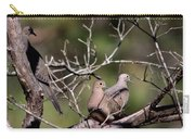 Siesta Time - Mourning Dove Carry-all Pouch