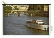 Sightseeings On The River Seine In Paris Carry-all Pouch
