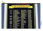 Sign Of Champions Carry-all Pouch