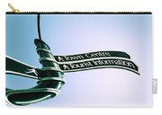 Sign Post Carry-all Pouch