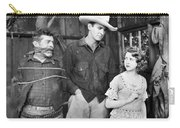 Silent Film: Cowboys Carry-all Pouch