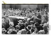 Silent Film: Crowds Carry-all Pouch