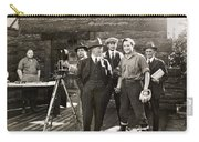 Silent Film Set, C1925 Carry-all Pouch
