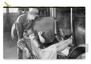 Silent Film Still: Accidents Carry-all Pouch