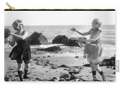 Silent Film Still: Beach Carry-all Pouch