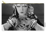 Silent Film Still: Costume Carry-all Pouch