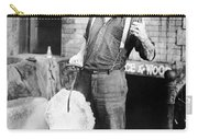 Silent Film Still: Iceman Carry-all Pouch by Granger