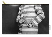 Silent Film Still: Prison Carry-all Pouch