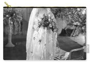 Silent Film: Wedding Carry-all Pouch