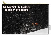 Silent Night Card Carry-all Pouch