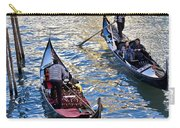 Silently Drifting Gondolas Carry-all Pouch