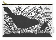 Silhouette: Bird & Insect Carry-all Pouch