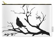 Silhouette Bird On Branch - To License For Professional Use Visit Granger.com Carry-all Pouch