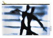 Silhouette Of Dancers Carry-all Pouch by David Ridley