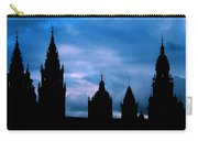 Silhouette Of Spanish Church Carry-all Pouch