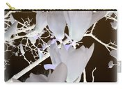 Silhouetted Blossoms Carry-all Pouch
