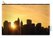 Silhouetted Manhattan  Carry-all Pouch