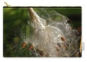 Silky Milkweed Carry-all Pouch
