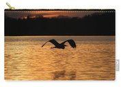 Silouette On The Lake Carry-all Pouch