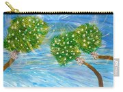 Silver Bells Carry-all Pouch