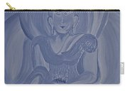 Silver Buddha Carry-all Pouch