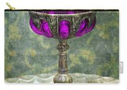 Silver Chalice With Jewels Carry-all Pouch by Jill Battaglia
