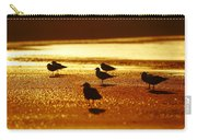 Silver Gulls On Golden Beach Carry-all Pouch