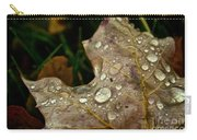 Silver Maple Rain Carry-all Pouch