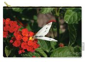 Silver Moth Carry-all Pouch