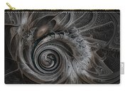 Silver Spiral Carry-all Pouch