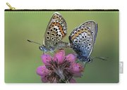 Silver-studded Blue Plebejus Argus Carry-all Pouch