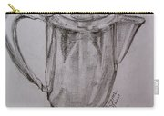 Silver Teapot Carry-all Pouch