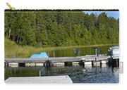 Simple Waterslide On Portage Lake Carry-all Pouch