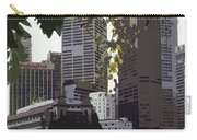 Singapore's Merlion Carry-all Pouch by Juergen Weiss
