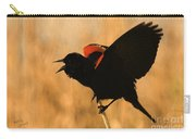 Singing At Sunset Carry-all Pouch