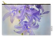 Single Bluebell Carry-all Pouch