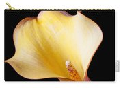 Single Calla Liliy Carry-all Pouch
