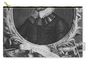 Sir Francis Drake, English Explorer Carry-all Pouch by Photo Researchers, Inc.