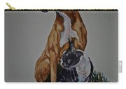 Sister Story Carry-all Pouch by Susan Herber